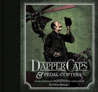 Cover Thumbnail for Wondermark: Dapper Caps & Pedal-Copters (Dark Horse, 2010 series)
