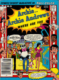 Cover Thumbnail for Archie... Archie Andrews Where Are You? Comics Digest Magazine (Archie, 1977 series) #19