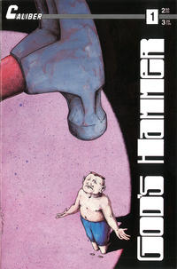 Cover for God's Hammer (Caliber Press, 1990 series) #1