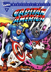 Cover Thumbnail for Biblioteca Marvel: Capitán América (Planeta DeAgostini, 1999 series) #1