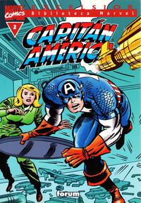 Cover Thumbnail for Biblioteca Marvel: Capitán América (Planeta DeAgostini, 1999 series) #2