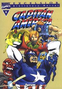 Cover Thumbnail for Biblioteca Marvel: Capitán América (Planeta DeAgostini, 1999 series) #5