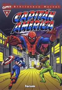 Cover Thumbnail for Biblioteca Marvel: Capitán América (Planeta DeAgostini, 1999 series) #8