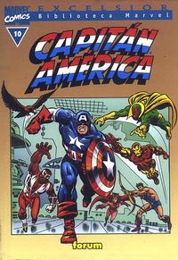 Cover Thumbnail for Biblioteca Marvel: Capitán América (Planeta DeAgostini, 1999 series) #10