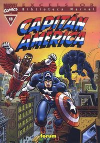 Cover Thumbnail for Biblioteca Marvel: Capitán América (Planeta DeAgostini, 1999 series) #13