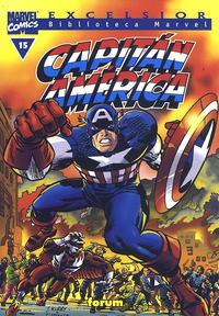 Cover Thumbnail for Biblioteca Marvel: Capitán América (Planeta DeAgostini, 1999 series) #15