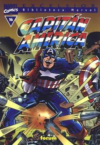 Cover Thumbnail for Biblioteca Marvel: Capitán América (Planeta DeAgostini, 1999 series) #16