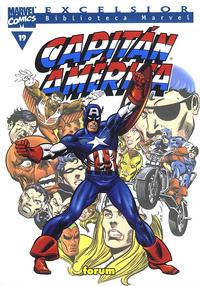 Cover Thumbnail for Biblioteca Marvel: Capitán América (Planeta DeAgostini, 1999 series) #19