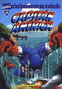 Cover Thumbnail for Biblioteca Marvel: Capitán América (Planeta DeAgostini, 1999 series) #20