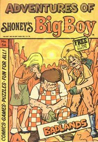 Cover Thumbnail for Adventures of Big Boy (Paragon Products, 1976 series) #54