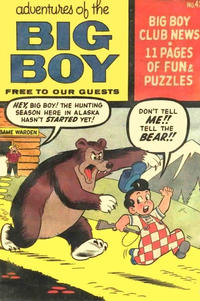 Cover Thumbnail for Adventures of the Big Boy (Webs Adventure Corporation, 1957 series) #42 [West]