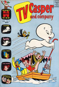 Cover Thumbnail for TV Casper & Company (Harvey, 1963 series) #12