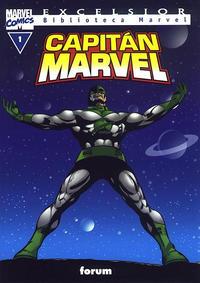 Cover Thumbnail for Biblioteca Marvel: Capitán Marvel (Planeta DeAgostini, 2002 series) #1