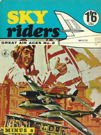 Cover Thumbnail for Sky Riders (K. G. Murray, 1967 series) #2
