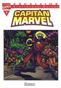 Cover Thumbnail for Biblioteca Marvel: Capitán Marvel (Planeta DeAgostini, 2002 series) #4