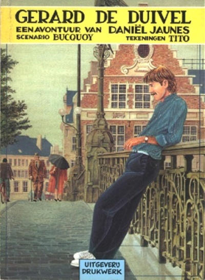 Cover for Daniël Jaunes (Drukwerk, 1982 series) #2