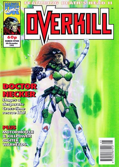 Cover for Overkill (Marvel UK, 1992 series) #15