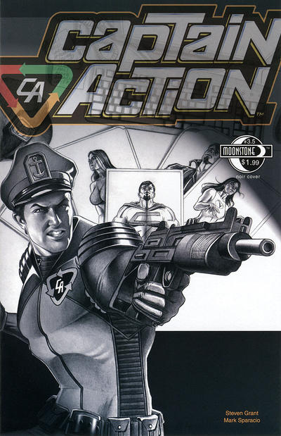 Cover for Captain Action Comics (Moonstone, 2008 series) #3.5