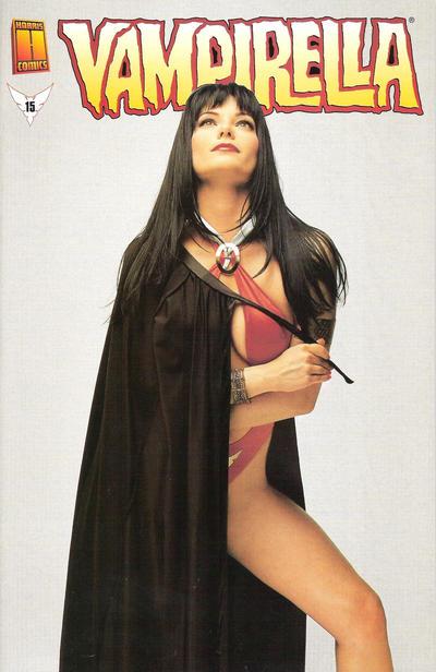 Cover for Vampirella (Harris Comics, 2001 series) #15 [Photo Cover]
