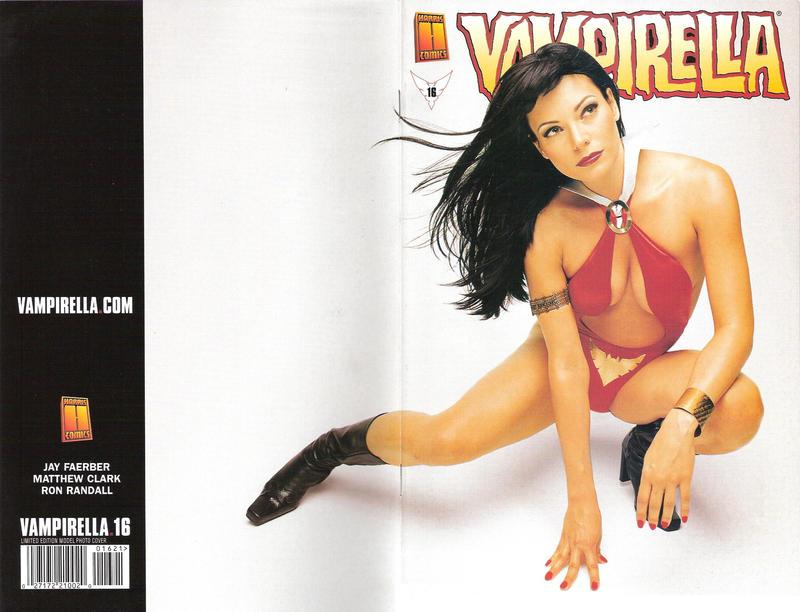 Cover for Vampirella (Harris Comics, 2001 series) #16 [Amanda Conner and Jimmy Palmiotti Cover]