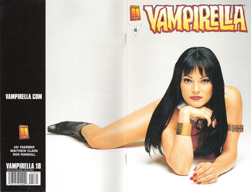 Cover for Vampirella (Harris Comics, 2001 series) #18 [Amanda Conner and Jimmy Palmiotti Cover]