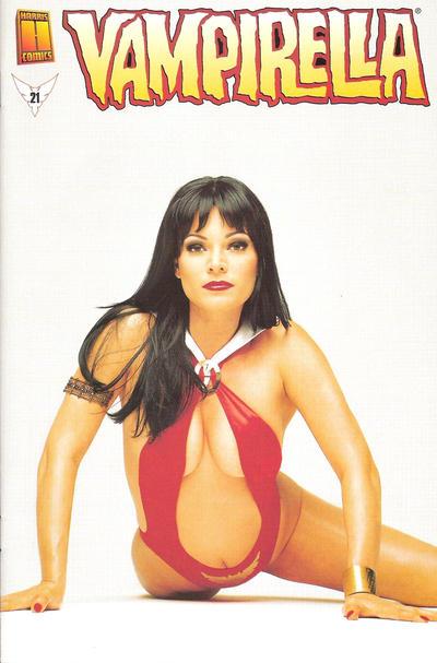 Cover for Vampirella (Harris Comics, 2001 series) #21 [Amanda Conner & Jimmy Palmiotti Cover]
