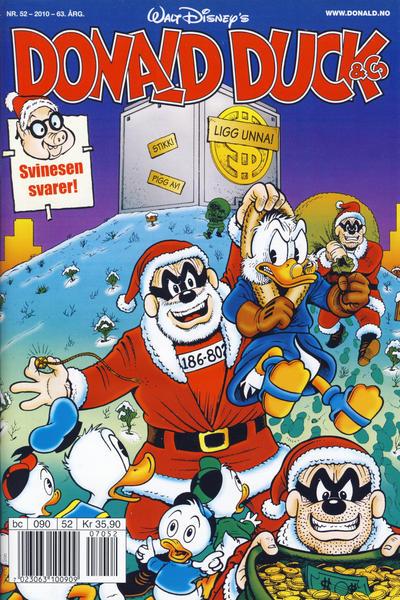 Cover for Donald Duck & Co (Hjemmet / Egmont, 1948 series) #52/2010