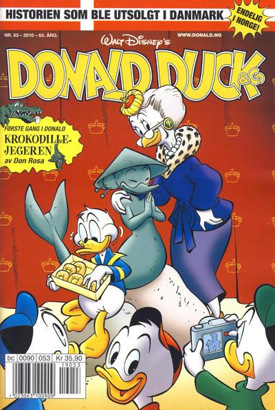 Cover for Donald Duck & Co (Hjemmet / Egmont, 1948 series) #53/2010