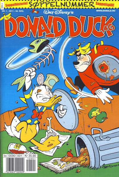 Cover for Donald Duck & Co (Hjemmet / Egmont, 1948 series) #1/2011