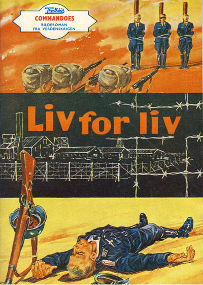 Cover for Commandoes (Fredhøis forlag, 1973 series) #13