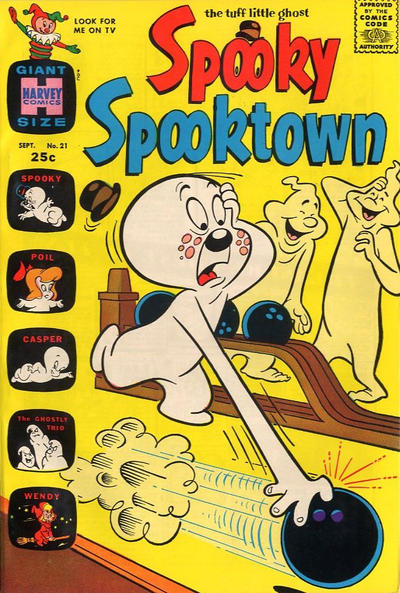 Cover for Spooky Spooktown (Harvey, 1961 series) #21