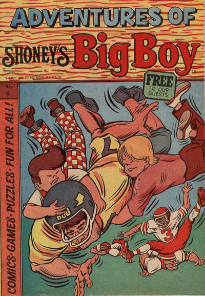 Cover for Adventures of Big Boy (Paragon Products, 1976 series) #9