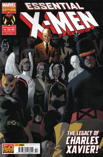 Cover for Essential X-Men (Panini UK, 2010 series) #14