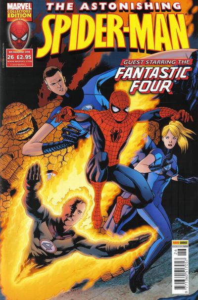 Cover for Astonishing Spider-Man (Panini UK, 2009 series) #26