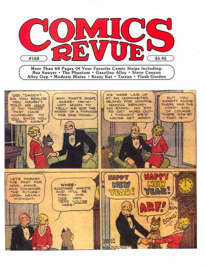 Cover for Comics Revue (Manuscript Press, 1985 series) #168