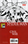 Cover Thumbnail for The Amazing Spider-Man (1999 series) #533 [2006 SDCC Exclusive Limited Edition Black and White Variant]