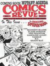 Cover for Comics Revue (Manuscript Press, 1985 series) #93
