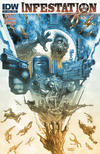 Cover for Infestation (IDW, 2011 series) #1 [Cover B]