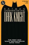 Cover for Legends of the Dark Knight (DC, 1989 series) #1 [Orange Cover]