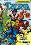 Cover for Tarzan (Atlantic Forlag, 1977 series) #7/1980