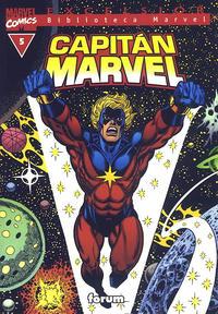 Cover Thumbnail for Biblioteca Marvel: Capitán Marvel (Planeta DeAgostini, 2002 series) #5