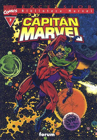 Cover Thumbnail for Biblioteca Marvel: Capitán Marvel (Planeta DeAgostini, 2002 series) #7