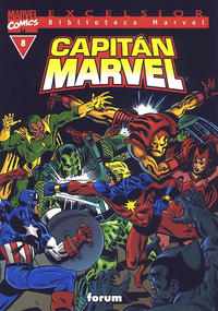 Cover Thumbnail for Biblioteca Marvel: Capitán Marvel (Planeta DeAgostini, 2002 series) #8