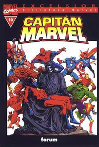 Cover Thumbnail for Biblioteca Marvel: Capitán Marvel (Planeta DeAgostini, 2002 series) #10