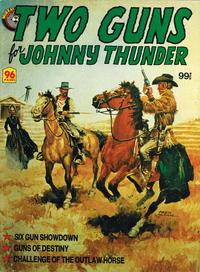 Cover Thumbnail for Two Guns for Johnny Thunder (K. G. Murray, 1982 series) #[nn]