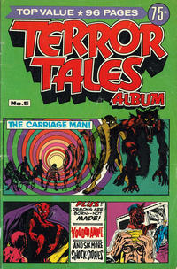 Cover Thumbnail for Terror Tales Album (K. G. Murray, 1977 series) #5