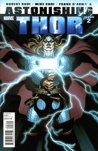 Cover Thumbnail for Astonishing Thor (Marvel, 2011 series) #2