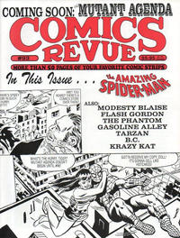 Cover for Comics Revue (Manuscript Press, 1985 series) #93