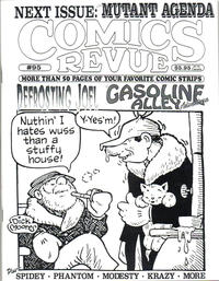 Cover Thumbnail for Comics Revue (Manuscript Press, 1985 series) #95