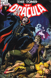 Cover Thumbnail for The Tomb of Dracula Omnibus (Marvel, 2008 series) #3